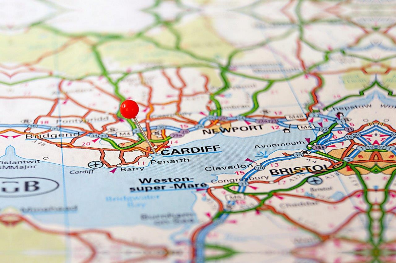 Map Of Wales, Cardiff Life, City Life, BS